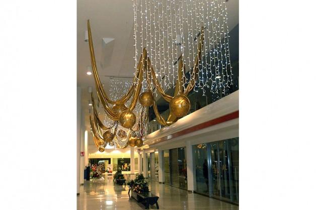 Decorazioni interni centri commerciali 16
