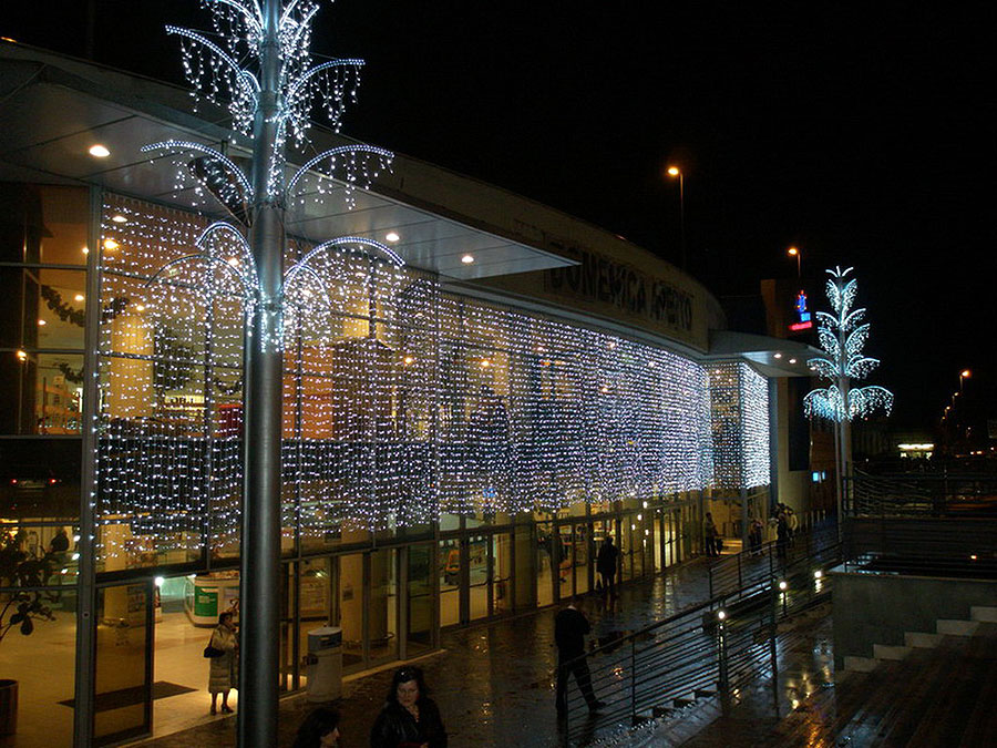 Decorazioni Luminose Natalizie : Decorazioni luminose natalizie per esterno: decorazioni natalizie