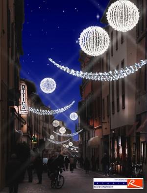 Progetto allestimento centro storico Imola