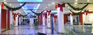 Realizzazione decorazioni natalizie centro commercial Darsena City