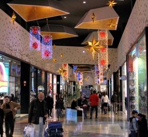 Realizzazione allestimento di natale centro commercial Forum
