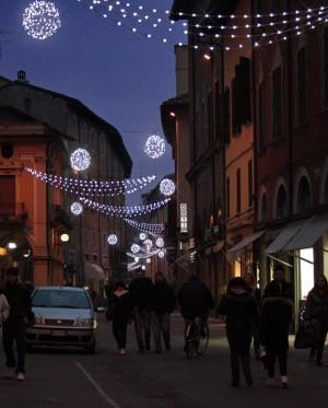 Realizzazione allestimento centro storico Imola