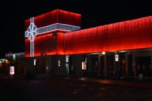 Realizzazione allestimento natalizio esterno Centro ESP